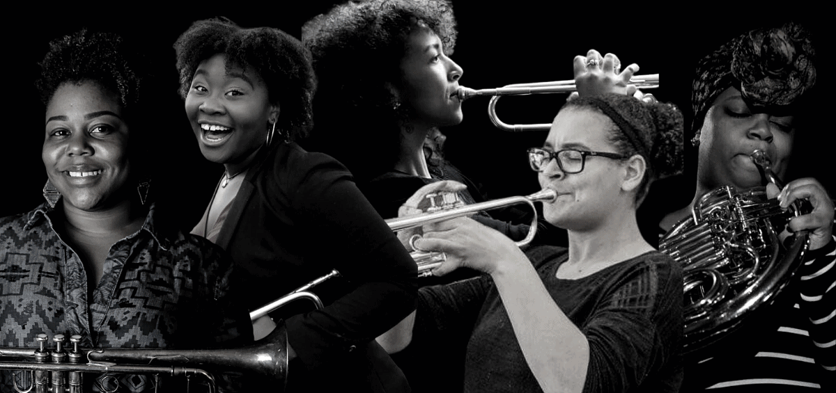 Black female players in the brass world